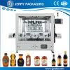 machine de remplissage de mise en bouteilles liquide de piston de bouteille de la sauce soja 50-1000ml automatique