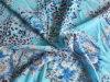 Poliestere Printing chiffon Fabric con Spandex