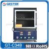 Certificat d'étalonnage concurrentiel Chambre d'essai d'inflammabilité horizontale (GT-C34B)