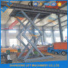Alquiler de plataforma de elevación Aparcamiento Ascensor hidráulico con CE