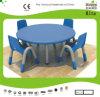 Tableand der Kaiqi Kinder sitzt - runde Form - vielen erhältlichen Farben vor (KQ10183C)