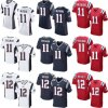 New England Drew Bledsoe Julian Edelman Tom Brady Football Jerseys