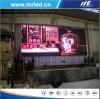 단계 임대료를 위한 옥외 P12mm 유연한 발광 다이오드 표시/유연한 발광 다이오드 표시
