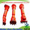 L'arbre de cardan personnalisé élevé de SWC s'est appliqué dans des machines de /Petroleum de pétrole