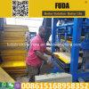 Manueller Betonstein des Afrika-guter Verkaufs-Qt4-24, der Maschine in Uganda herstellt