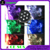 DJ 소형 편평한 단계 7X10W RGBW 최고 호리호리한 LED 동위