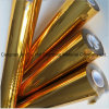 Clinquant d'estampage d'or pour l'emballage en plastique de papier