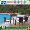 Напольный ротанг угла сада обедая установленная мебель (TG-JW69)