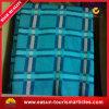 専門の昇華させた毛布柔らかいブラシをかけられた航空会社毛布の羊毛毛布の格子縞
