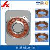 カスタマイズされたアルミニウムは快速電車のための鋳造物によって機械で造られる部品の端カバーを停止する