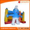 A casa do salto do PVC caçoa a corrediça inflável do castelo Bouncy combinado (T3-116)