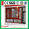 guichet en aluminium de tissu pour rideaux en verre Tempered de 6mm