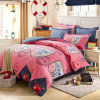 Textiel Katoenen van 100% Beddegoed Van uitstekende kwaliteit dat voor Huis/de Reeks van het Beddegoed van de Dekking van het Dekbed van het Dekbed van het Hotel (roze MENGELING) wordt geplaatst