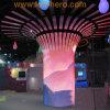 P10 Metà-Round LED Display per Building