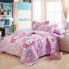 Textiel Katoenen van 100% Beddegoed Van uitstekende kwaliteit dat voor Huis/de Reeks van het Beddegoed van de Dekking van het Dekbed van het Dekbed van het Hotel (HELLO POT) wordt geplaatst