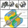 Hysteresis standard Brakes per Coil Winding Machinery (freno di Magnetic)