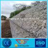 Mur de soutènement galvanisé plongé chaud de roche de treillis métallique de Gabion