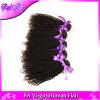 Cabelo Curly Kinky brasileiro do Virgin do vison Curly Kinky brasileiro do cabelo humano do Weave do cabelo do Virgin de 4 pacotes pacotes brasileiros do Weave do cabelo
