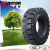 Pneumatic Shaped Forklift Tyre, Solid Forklift Tire with Natural Rubber