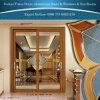 デラックスな室内装飾のためのフォーシャンの製造業者によって使用される商業アルミニウムガラスドア