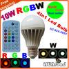 Température Temps-Limitée d'ampoule/lampe/lumière, colorée et de couleur d'Isunroad 2015 la nouvelle RGBW LED réglable, commande de musique de voix