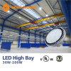 Luz elevada da baía do UFO do diodo emissor de luz do UL (478737) Dlc IP65 150W