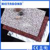 Material de construcción del metal de la superficie de piedra publicitaria de aluminio ACP del panel