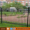 Schwarzes Puder-beschichteter galvanisierter Stahlrohr-Zaun