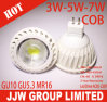 Ampoules pointues de l'ÉPI GU10 DEL de la lumière 120 Degree/3W de tache de GU10 DEL