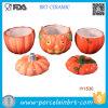 Überraschender Halloween-keramischer Kürbis-Nahrungsmittelvorratsbehälter