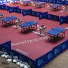 Пластиковый ПВХ настольный теннис пол с Ifff/Bwf/Ce Standard в Chna