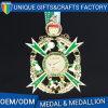 Высокое качество OEM/ODM умирает медальон эмали бросания перекрестный