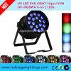 LED 단계 빛 - 1개의 LED PAR64에 대하여 RGBW 4