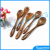 5 Wooden Kitchen Cooking Utensils Toolsの木製のSpoons Set