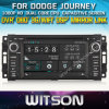 Dodge Journey 2006-2012년 Car를 위한 Witson Car DVD DVD GPS 1080P DSP Capactive Screen WiFi 3G Front DVR Camera