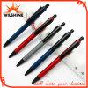 Nova caneta de escrita de ponta de alumínio para gravura de logotipo de promoção (BP0145)