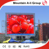 Tablero al aire libre de a-Li P8 SMD LED TV de la montaña