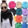 Señora Popular Fashion Polyester Scarf del invierno modificada para requisitos particulares