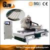 Vierstufiger ATC CNC-Fräser-Stich-Ausschnitt und Bohrmaschine