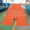 8 тонн грузоподъемности Китая во дворе высшего качества поставщика контейнера Dock Аппарели с маркировкой CE сертификации