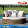 PET Rattan-rundes Couch-Sofa