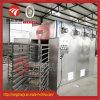 Secador de aire caliente de acero inoxidable trozos de carne de cerdo de la máquina de secado