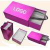 Cajas y bolsos de papel hermosos de zapatos de Fasional
