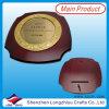 Trophée en bois de plaque métallique de souvenir de plaque de mur