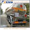 Reboque do caminhão do transporte do combustível da suspensão do saco de ar da mola de lâmina/petróleo pesado/gasolina