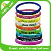 Bracelet sensible aux UV promotionnel bon marché de silicone de sport avec des logos faits sur commande