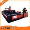 Cnc-Faser-Laser-Ausschnitt/Gravierfräsmaschine Ipg 1kw für Kohlenstoffstahl des Scherblock-10mm