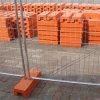 オーストラリアの熱い浸された電流を通された溶接された金網の機密保護の一時塀のパネル