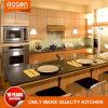 Küche-Schrank-konzipieren hölzerne Furnier-Blatttüren heißen Verkauf