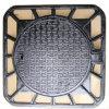Tampa de câmara de visita Ductile do ferro de molde do frame quadrado